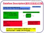 dataflow description