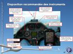 disposition recommand e des instruments