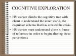 cognitive exploration