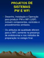 projetos de sistemas pw e wfi