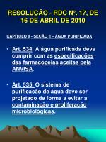 resolu o rdc n 17 de 16 de abril de 20104