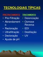 tecnologias t picas