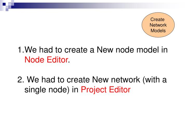 opnet lab Opnet - lab review entc 345 dr ana goulart assistant professor lab#1 - tutorial on m/m/1 queue review the main steps new project new node new network (with a single node.