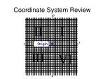 coordinate system review