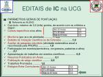 editais de ic na ucg2