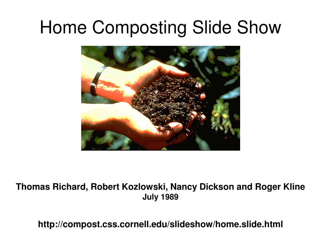 home composting slide show l.