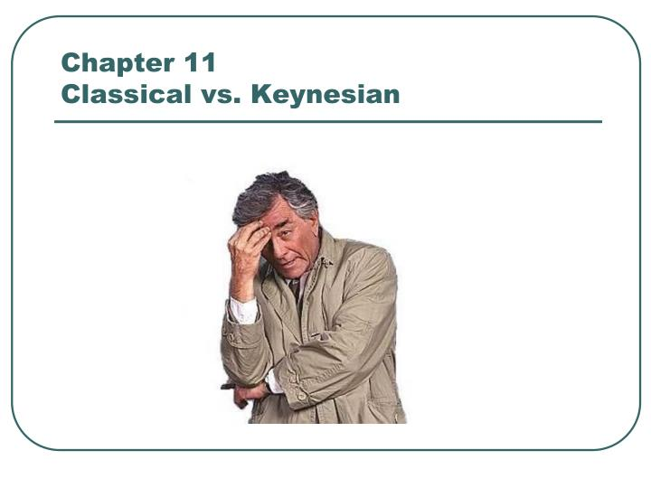 chapter 11 classical vs keynesian n.