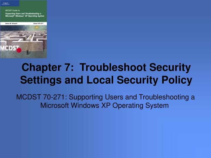 mcdst 70 271 supporting users and troubleshooting a microsoft windows xp operating system n.