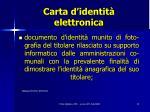carta d identit elettronica