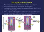 noncyclic electron flow1