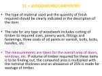 11 woodwork carpentry