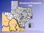 binational programs 2005