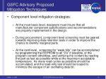 gsfc advisory proposed mitigation techniques6