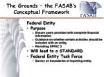 the grounds the fasab s conceptual framework6