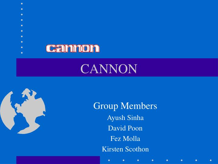 cannon n.