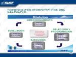 fiscalizaciones a trav s del sistema fisat fiscal estad index pista perfil