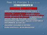 paso 10 principio 5 f 10 en 191 192 establecimiento de medidas correctoras