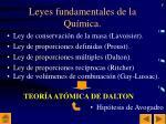 leyes fundamentales de la qu mica1