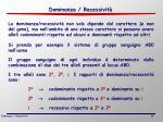 dominanza recessivit1