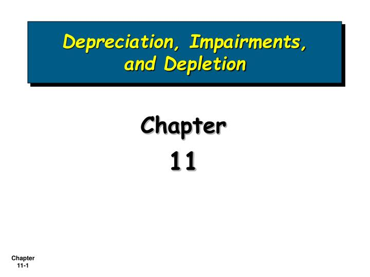depreciation impairments and depletion n.