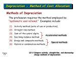 depreciation method of cost allocation2