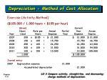 depreciation method of cost allocation5