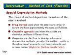depreciation method of cost allocation7
