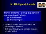 3 1 michigansk studie