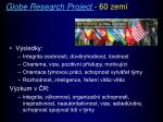 globe research project 60 zem