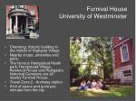 furnival house university of westminster