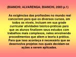 bianchi alvarenga bianchi 2003 p 1