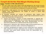 compiti del ad hoc risk margin working group1