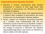 compiti dell insurance regulation committee1