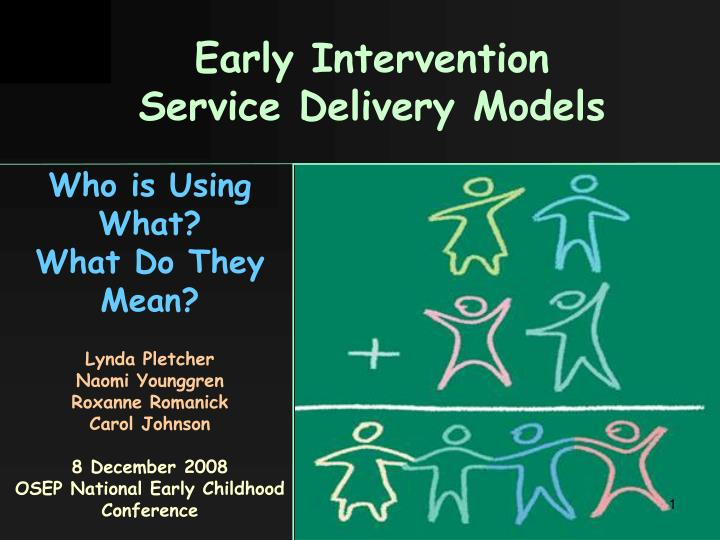 early intervention service delivery models n.