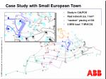 case study with small european town