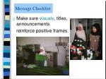 message checklist8