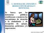 5 sistemas de atenci n y resoluci n de quejas y denuncias