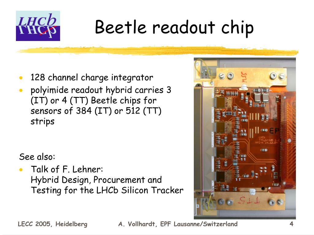 Beetle readout chip