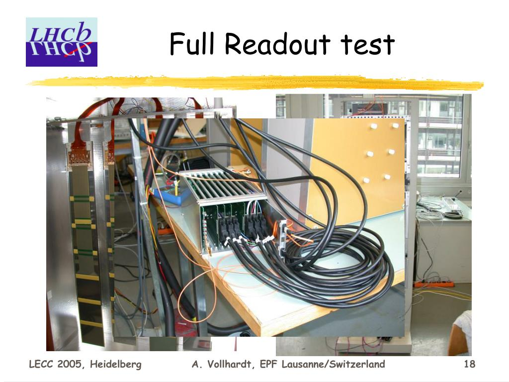 Full Readout test
