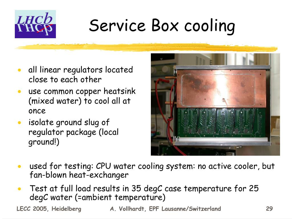 Service Box cooling