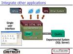 integrate other applications