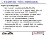 r7 8 expanded process functionality2