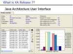what is xa release 72