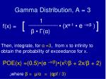 gamma distribution a 3