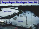 brays bayou flooding at loop 610