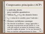 composantes principales acp