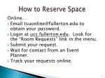 how to reserve space1