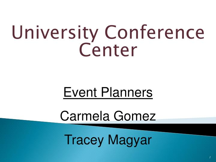 university conference center n.