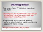davran finans1