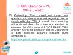 dfars guidance pgi 204 73 cont d3